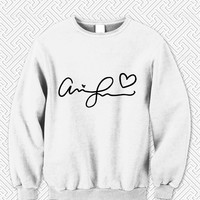 Ariana Grande Signature Sweater Man and Sweater Woman
