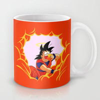 Goku eats clouds ( Dragon Ball Z ) Mug by TxzDesign