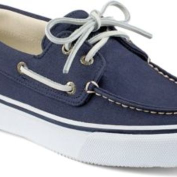 Sperry Top-Sider Bahama Varsity 2-Eye Boat Shoe Navy, Size 8.5M  Men's