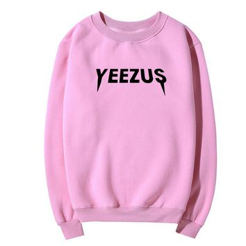 Yeezus Fashion Top Pullover Sweater Sweatshirt
