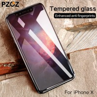 9H Tempered Glass For iPhone X