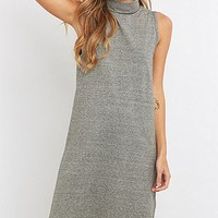 ADPT. Grey Turtleneck Dress - Urban Outfitters