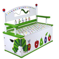 Levels of Discovery Very Hungry Caterpillar Bench Seat w/ Storage - S102