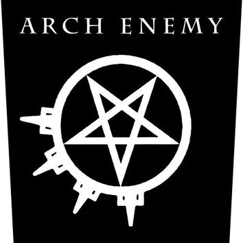 Arch Enemy Back Patch - Pentagram Logo