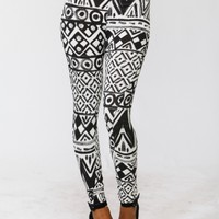 Abstract High Waist Leggings @ Cicihot Pants Online Store: sexy pants,sexy club wear,women's leather pants, hot pants,tight pants,sweat pants,white pants,black pants,baggy pants