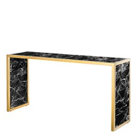 Black Marble Console Table | Eichholtz Moscova