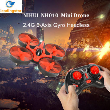 LeadingStar  H36 Mini Drone 2.4GHz 6-Axis RC Quadcopter With Headless Mode One Key Return Helicopter Vs H8 H37 Dron Toys For Kid