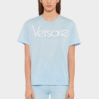 Versace Vintage Logo T-shirt for Women | US Online Store