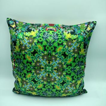 Silk Satin 16mm Pillow Cover 4 - 16x16 Inches