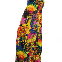 Peacock Picasso Wide Leg Pants