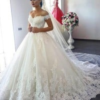 Long Wedding Dress to Brazil