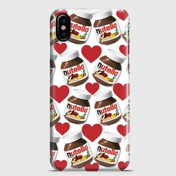 Nutella Pattern iPhone X Case | casescraft