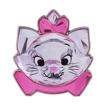 Disney Parks Marie Glass Sculpted Pin New with Card
