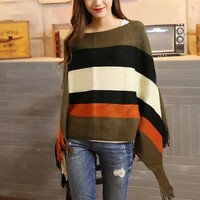 Women's Sweater Poncho