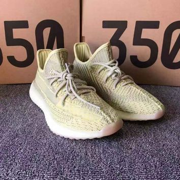 YELLOE Adidas Yeezy 350 Boost Sneakers Shoes for Women Men Gift