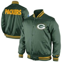 Nike Green Bay Packers Start Again Jacket - Green