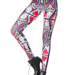 2014 Rushed Print New Arrival Fashion Queen of Hearts Poker Digital Printed Sexy Yoga Sport Leggings for Womens Shipping Dk172