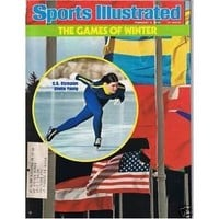 2/2/76 Sports Illustrated - Winter Olympics Young cover
