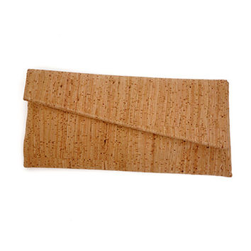 Envelope Clutch - EcoCork