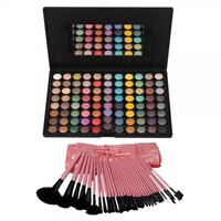 88 Color Eyeshadow Palette and 32pcs Pro Makeup Brushes Makeup Set 09