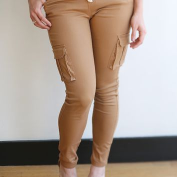 Perfect Cargo Skinnies- 5 Colors!