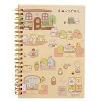 Kawaii Japan cartoon Rilakkuma & Sumikkogurashi Coil notebook/Diary agenda/pocket book/office school supplies Activity