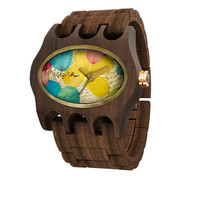 Kamera Santa Elena Collection Wooden Watch