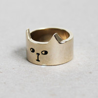 Lazy Oaf | Lazy Oaf | Cat Ring Gold