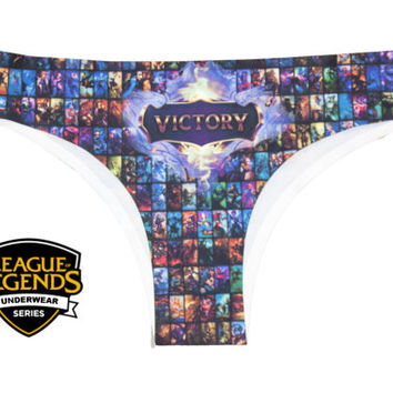 League Of Legends Underwear Series - LOL Panties - Select Champion Geeky PC Game League Clothing Bikini League of legends clothing tshirt