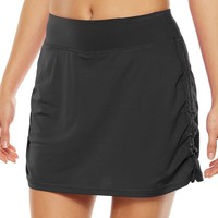Tek Gear Shirred Side-Tie Yoga Skort - Women's