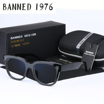 BANNED 1976 Top quality Anti blue light  uv400 Men Women Optical eyeglasses Frame Reading goggles cool Computer eye Glasses
