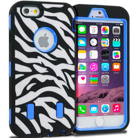 Deluxe Hard Soft Case Cover  - Apple iPhone 6 (4.7)