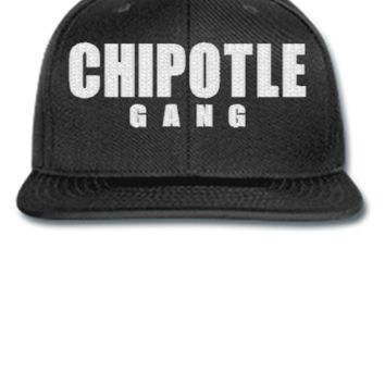chipotje gang embroidery hat - Snapback Hat