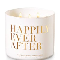 Happily Ever After - Blue Water Lily 3-Wick Candle | Bath And Body Works