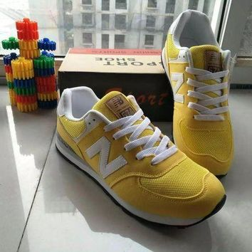 LMFUX5 fashion online new balance fashion casual all match n words breathable lover sneakers shoes