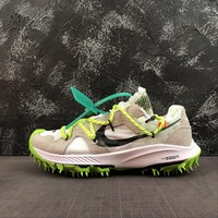 "OFF WHITE x Nike Air Zoom Terra Kiger 5 ""White"" Sport Shoes - Best Online Sale"