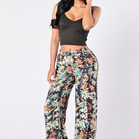 Bohemian Loose-Fitted Hippie Pants