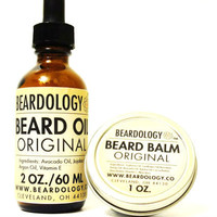 2oz Beard Oil and 1oz Beard Balm Set