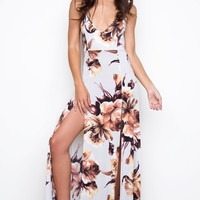 Yours Truly Maxi Dress - Peach
