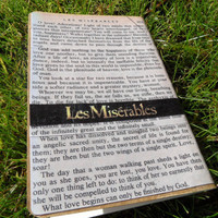 "Handcrafted Les Miserables Journal ""Heart Full of Love"""