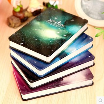 New Metal diary Notebook paper 144 sheets All Stars Creative Notepad hard copybook Note book Office School Supplies Gift