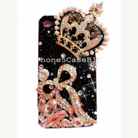 iPhone 4 Case, iPhone 4s Case, iPhone 5 Case, iPhone 5 Bling Case, Bling iPhone 4 case, Unique iPhone 4 case, iphone 4 case bling crown