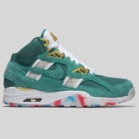 AUGUAU Nike Air Trainer SC High ATL 96 QS White Mystic Green
