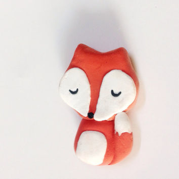 Fox Magnet Woodland Decor