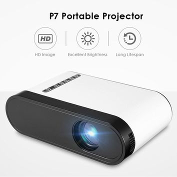 1080P Mini LCD Projector 600 Lumens Portable Projector with Speaker