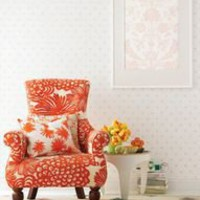 great color and pattern chair