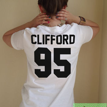 Clifford 95 T Shirt Unisex White Black Grey S M L XL Tumblr Instagram Blogger
