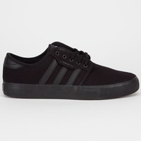 Adidas Seeley J Boys Shoes Black/Black/Dark Cinder  In Sizes