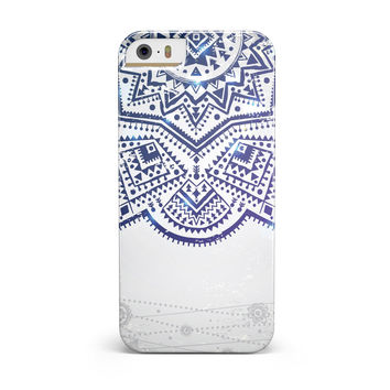 Ethnic Indian Vector Ornament iPhone 5/5S/SE INK-Fuzed Case