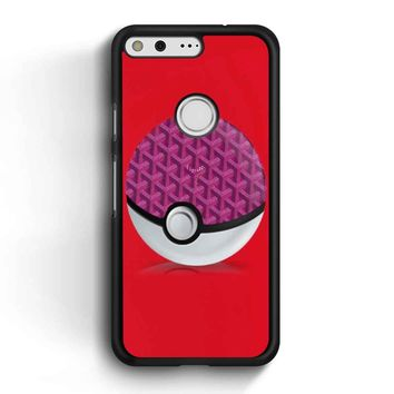 Goyard Pokeball Google Pixel Case
